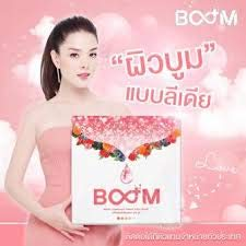 BOOM (Collagen Tripeptide) Anti-Aging Bright Drink Skin Beautiful Skin Premium By Lydia(1 box/14 envelopes)