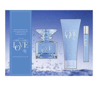 UNBREAKABLE LOVE 3 Piece Fragrance Gift Set for Men and Women