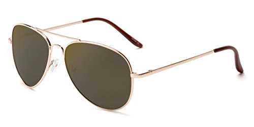 Sunglass Warehouse | The Desert Sunglasses - Aviator - Metal Frame - Men & - Performance Sunglass Warehouse