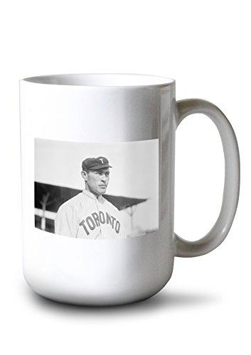 Toronto Leafs Travel Mug Maple (Lantern Press James Mullen, Toronto Maple Leafs, Baseball Photo (15oz White Ceramic Mug))