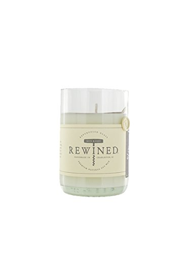 Rewined Rosé Fragrance Soy Wax Scented Candle with Notes of Rose Petal, White Peach, Pink Peppercorn and Crisp Minerality