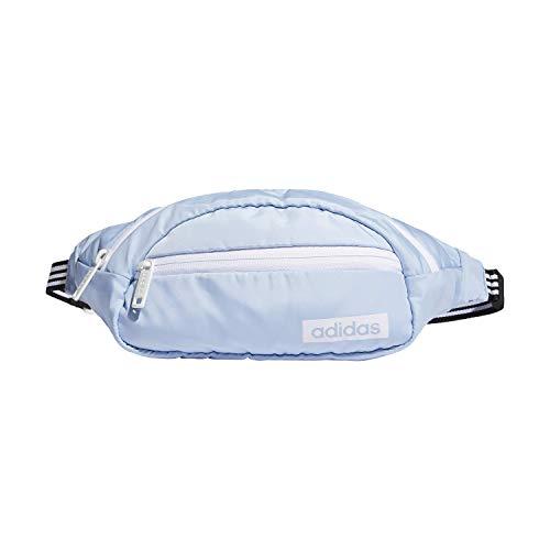 adidas Unisex Core Waist Pack, Glow Blue/White/Black, ONE SIZE