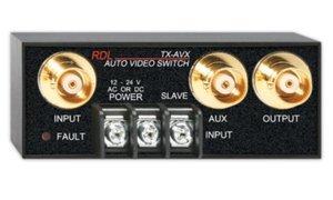 Radio Design Labs RDL TX-AVX Automatic Video Switch - 2x1 - BNC