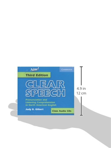 Clear Speech Class Audio CDs (3): Pronunciation and Listening Comprehension in American English