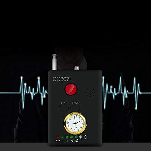 BIlinli Detector de Errores de señal GPS Anti-espía Lente de cámara Oculta RF inalámbrico Buscador de Dispositivos gsm Buscador de Dispositivos CX307 + ...