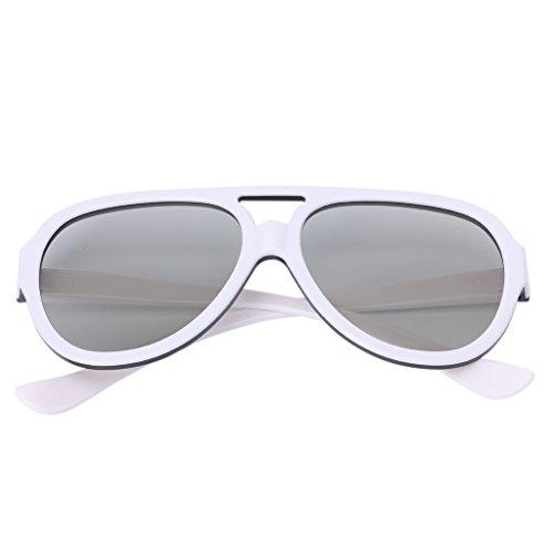 Julianne Universal Polarized 3D Glasses Passive Google Cardboard VR Virtual Reality 3D Game Movie TV Cinema Plastic Frame Glasses