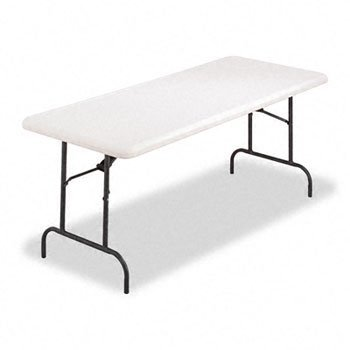 - Alera® Resin Rectangular Folding Table TABLE,FLD 30X72,PM (Pack of2)