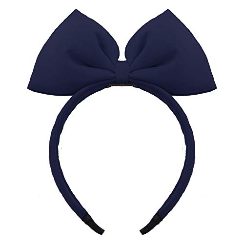 (Bow Headband Bowknot Hair Bands Big Bow Halloween Hair Hoop Women Girls Bow Hairband Party Decoration Headdress Cosplay Costume Headwear Handmade Headpiece Makeup Hair Accessories 1 Pack)