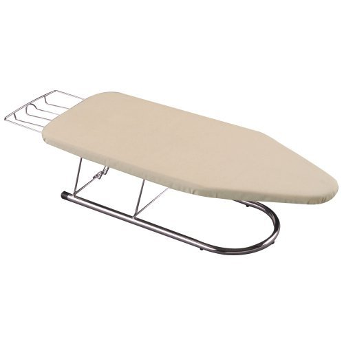 Household Essentials 131200 Chrome Tabletop Mini Ironing - Whitney Design Iron Ironing Board
