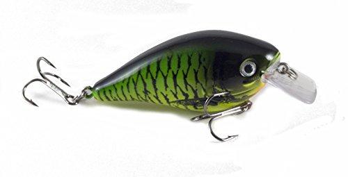 nkBait-Fishing Lure Bass Walleye Striper Pike (Green Monster, Single) ()