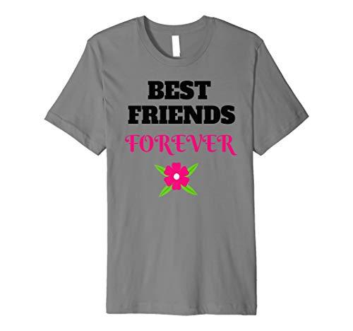 - Best Friends Forever T-shirt Bff Friends Shirts Tees Premium T-Shirt