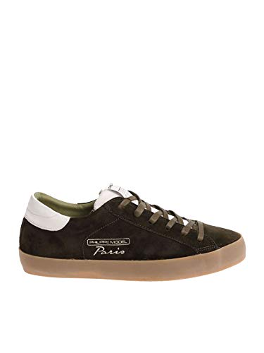 Cvluxh10 Fibres Homme Philippe Synthétiques Model Vert Baskets Zx0Sw