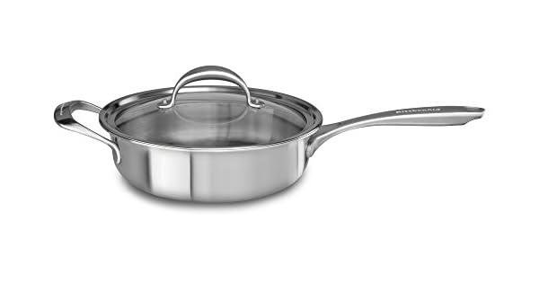 Amazon.com: KitchenAid kc2 C35ehst 5-ply Cobre Core 3.5 ...