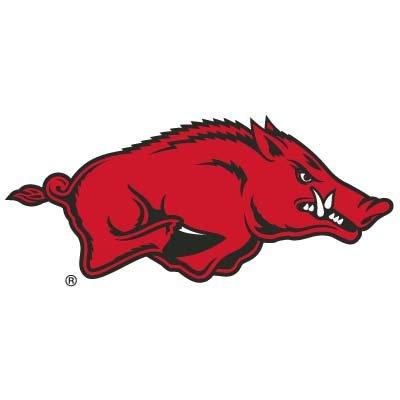 (Arkansas Razorbacks Logo Lapel Pin / Tie-tac)