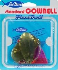 Luhr Jensen Cowbell Lake Standard Troll, Brass -