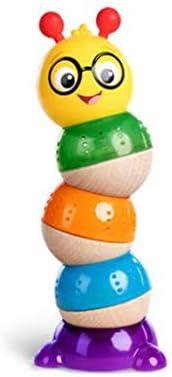 背の高い子供のおもちゃ赤ちゃんのパズルゲームベビーパズルヒープのおもちゃの揺れザ・キャタピラー杭