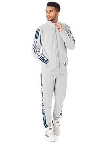 adidas originals Herren Hosen / Jogginghose Quarz Of Fleece grau L