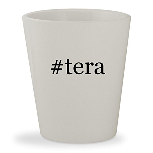 Price comparison product image #tera - White Hashtag Ceramic 1.5oz Shot Glass