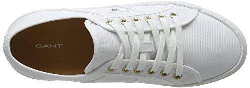 G290 Gant Mujer para White Blanco Bright Zoe Zapatillas F0rxgwcqv0