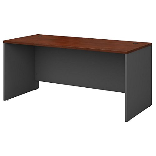Bush Business Furniture Series C 66W x 30D Office Desk in Hansen - Right Drawer Pedestal Office Desk