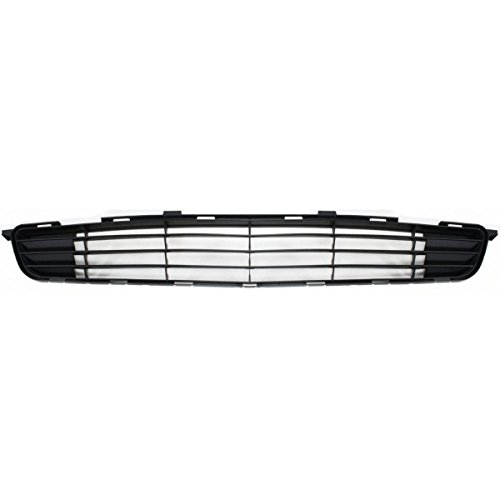 BB Auto New OE Direct Replacement Front Center Bumper Grille Grill Insert Replacement for 2009-2010 Toyota Corolla