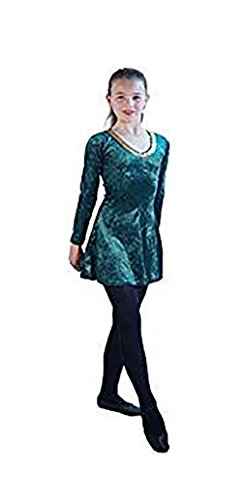 Irish Dance Dress Costumes - Stage-Celtic-Irish-Lyrical Short Irish Dance Dress Child's