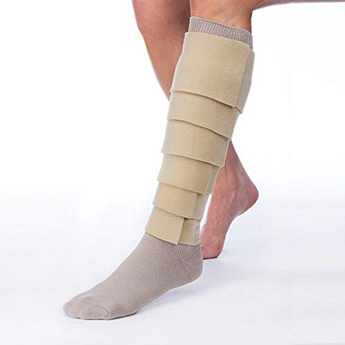 FarrowWrap basic Legpiece, Tan, BSN Jobst FarrowMed (Regular-XS) by FarrowWrap