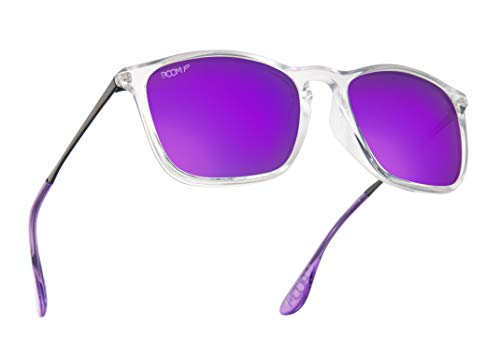 Boom Shoreline Polarized Sunglasses by Dimensional Optics (ZUMA, 53)
