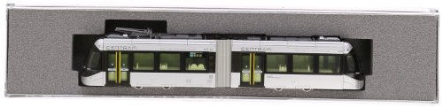 9000 Type - Kato N GaugeToyama Inter-city Train Belt Line [Centram] Type 9000 #9002 (Silver) (Kato PlaRail Model Train)