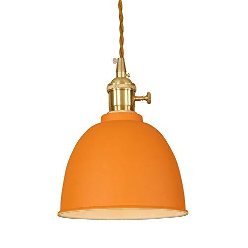 Ganeep 9 Colores Modernos Luces Colgantes Nordic E27 Lámpara LED Decoraciones de Interior para Iluminación de Hogar...