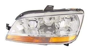 Left Passenger Side Headlamp Front Head Light (With Amber Indicator With Fog Lamp):