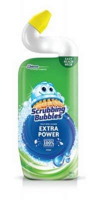 Scrubbing Bubbles S C Johnson Wax 71585 Toilet Bowl Cleaner, Heavy-Duty, Rain Shower, 24-oz. - Quantity 9 by Scrubbing Bubbles