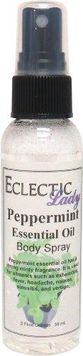 - Peppermint Essential Oil Body Spray, 2 ounces