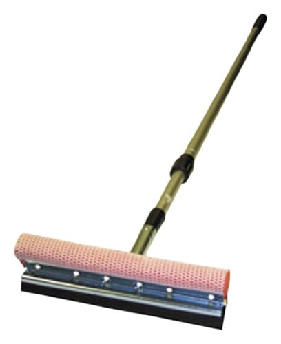 Carrand  8 Metal Head Squeegee - with a 21 - 36 Extension Ha