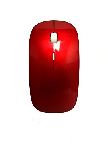 ROCKSOUL MS-102 Bluetooth Laser Mouse for MAC, Red