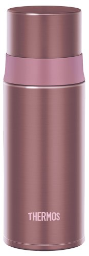 THERMOS stainless steel slim bottle 0.35L Pink FFM-350 P (japan import)