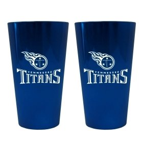 (Tennessee Titans Lusterware Pint Glass - Set Of 2)