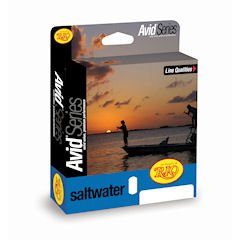 RIO Products Fly Line Avid Saltwater Wf10F Sandy Blue, Sandy-Blue