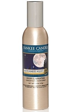 Concentrated Room Spray MIDSUMMER NIGHT Air Freshener Spray Net WT 1.5 OZ (43g) by Yankee Candle