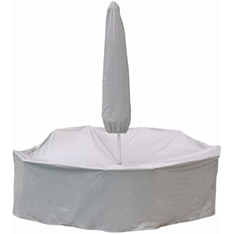 Protective Covers Weatherproof Patio Table And Chair Set Cover 48 Inch X 54 Inch Round Table Gray