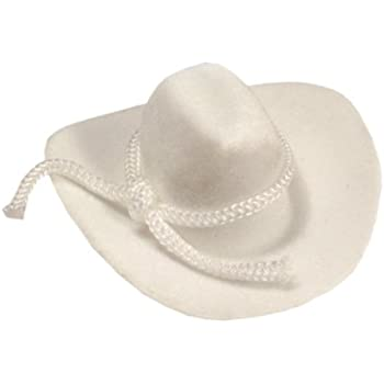 cfbf48502c465 Amazon.com  12pcs Mini Cowboy Hat Western Wedding Favors Decoration ...
