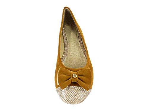 Chaussmaro - Zapato de vestir Mujer marrón claro