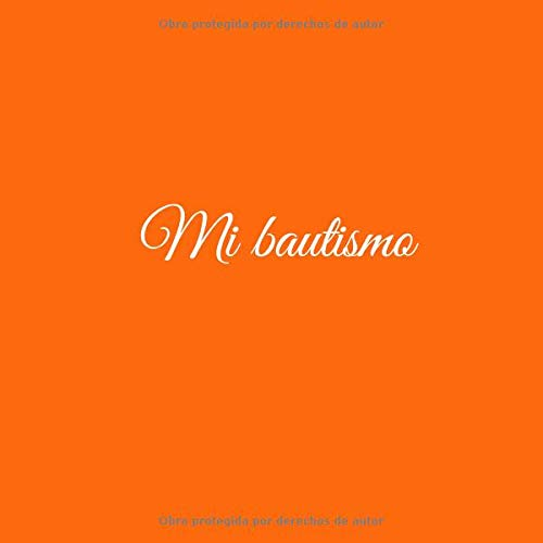 Amazon.com: Mi bautismo: Libro De Visitas Mi bautismo para bautizo ...