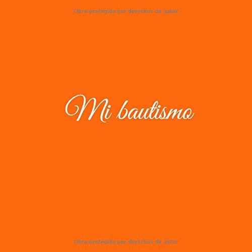 Amazon.com: Mi bautismo: Libro De Visitas Mi bautismo para bautizo ideas regalos decoracion accesorios fiesta libro de recuerdos firmas invitados bautizo .