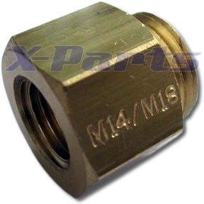 Gewindeadapter M14 x 1.5 auf M18 x 1.5 Wasseranschluss Turbo X-Parts