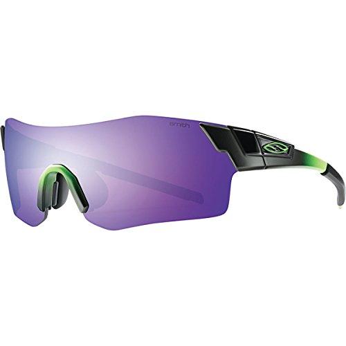 Smith Optics Pivlock Arena Performance Sunglasses, Reactor Green/Purple - Optics Smith Glasses