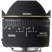 Tokina Sigma 15mm f/2.8 EX DG Diagonal Fisheye Lens for S...