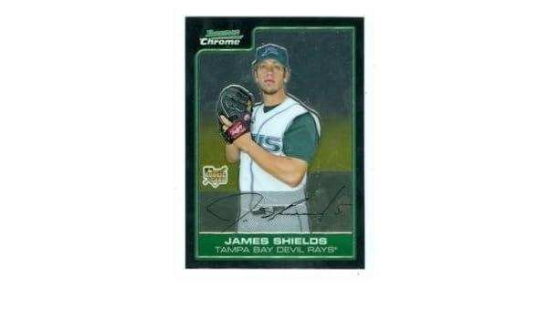 Amazon.com: James Shields baseball card (Rays Kansas City ...
