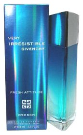 Very Irresistible Fresh Attitude By Givenchy For Men. Eau De Toilette Spray 3.3-Ounce Bottle