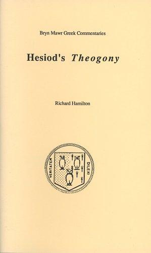 Theogony (Bryn Mawr Commentaries, Greek) (Ancient Greek and English Edition)